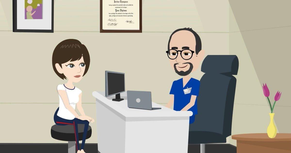 La preparazione per una visita medica specialistica