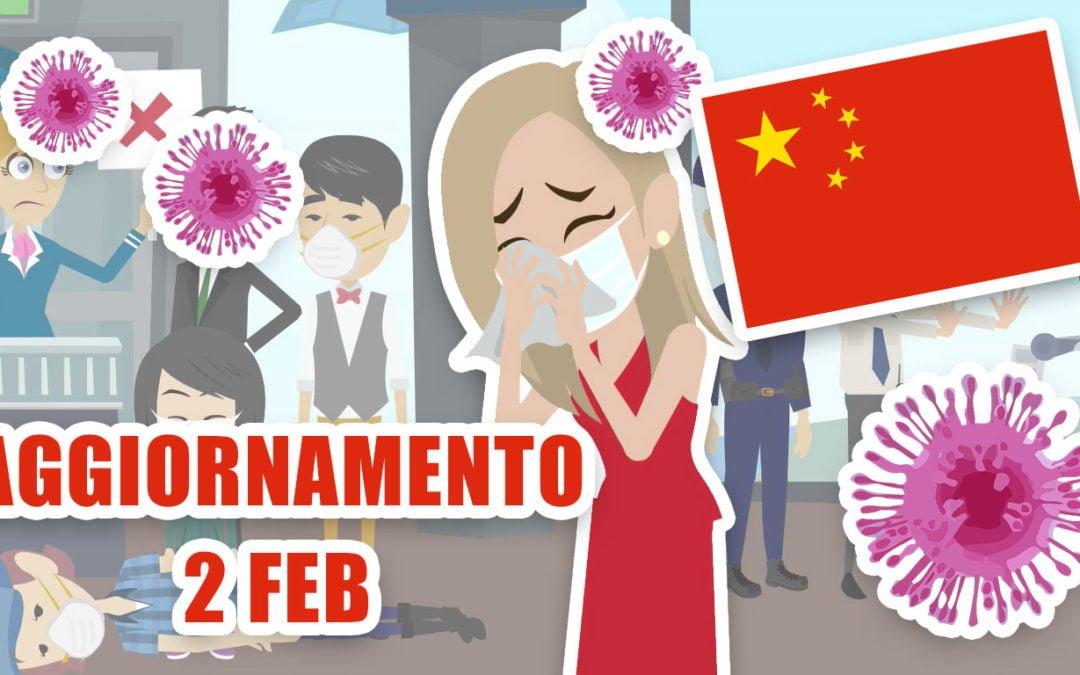 Coronavirus dalla Cina: aggiornamento 2 febbraio