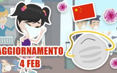 Coronavirus: aggiornamenti 4 febbraio