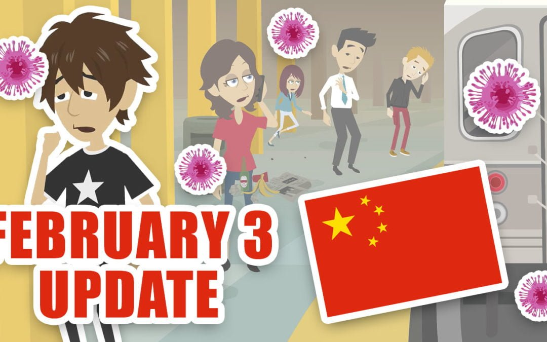 Coronavirus from China: February 3 update