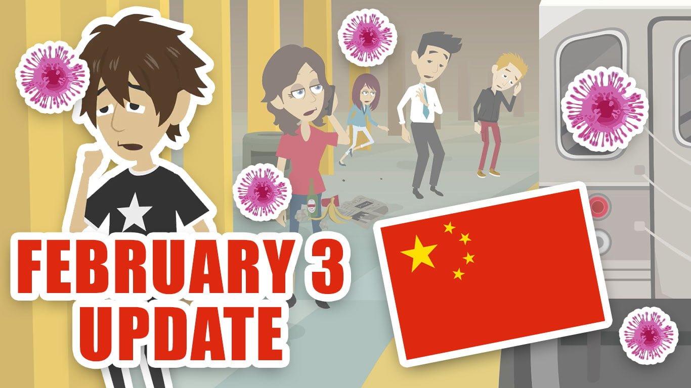 Coronavirus from China: February 3 update