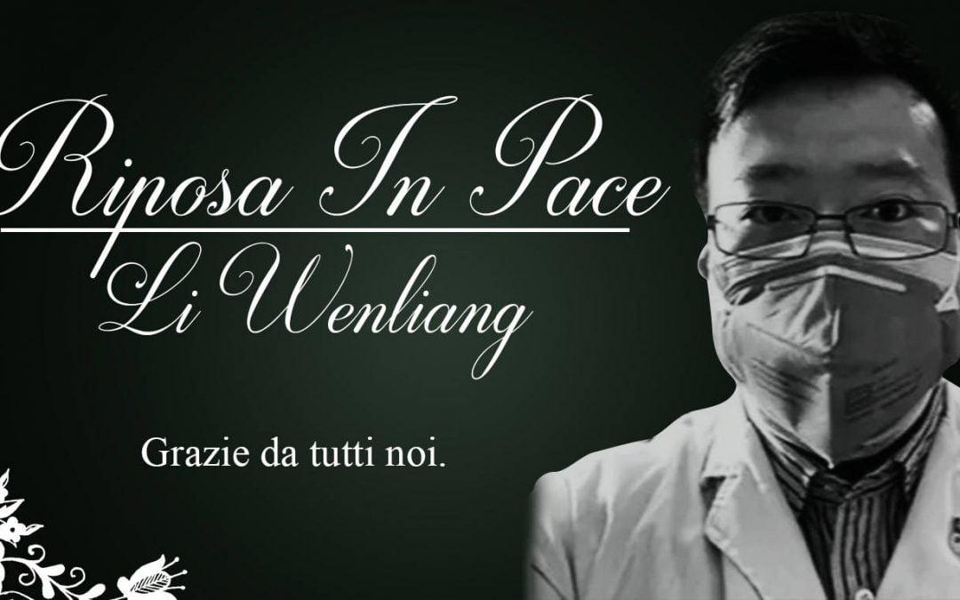 Li Wenliang, medico eroe.