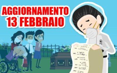 Coronavirus: aggiornamento 13 febbraio