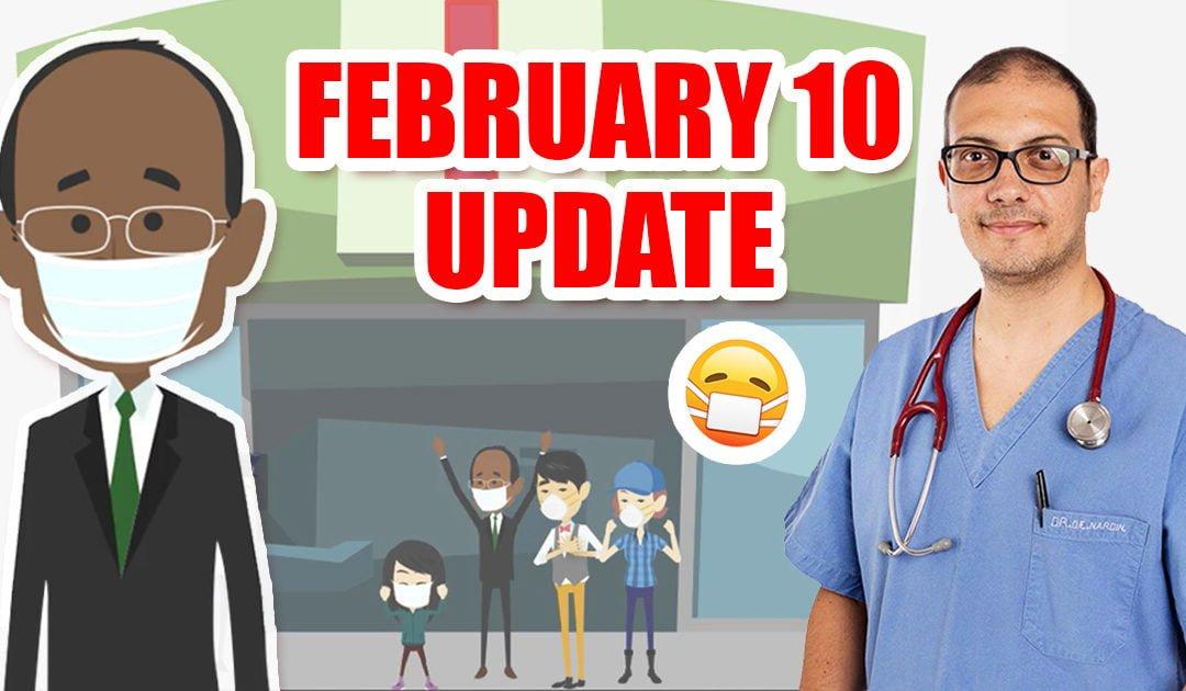 Coronavirus from China: February 10 update