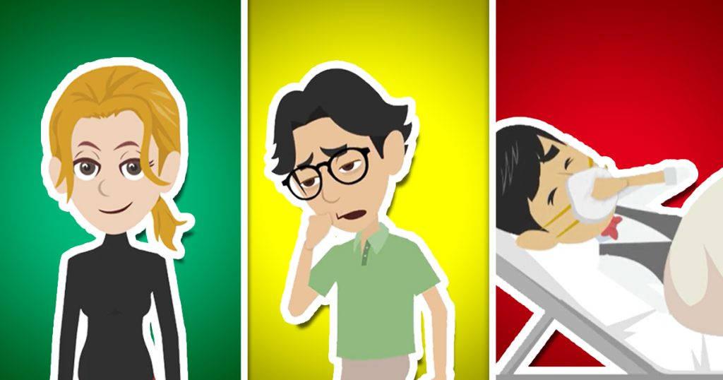 Coronavirus: The 3 types of symptoms