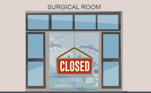 Why we need to close all operating rooms