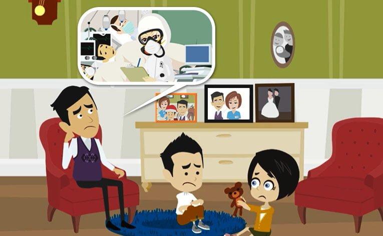 COVID-19: l'impatto psicologico sulle famiglie del personale sanitario