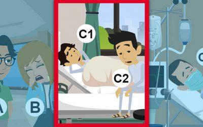 "Coronavirus: how to treat ""intermediate"" patients"