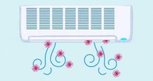 Read more about the article Il Coronavirus passa attraverso i filtri dell'aria condizionata?