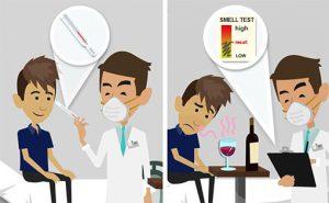 Iposmia e anosmia nel COVID-19
