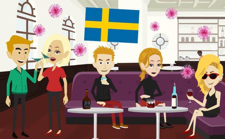Il Coronavirus nel mondo: la Svezia