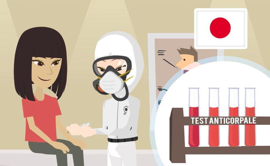 Giappone: primi test sierologici per il Covid-19