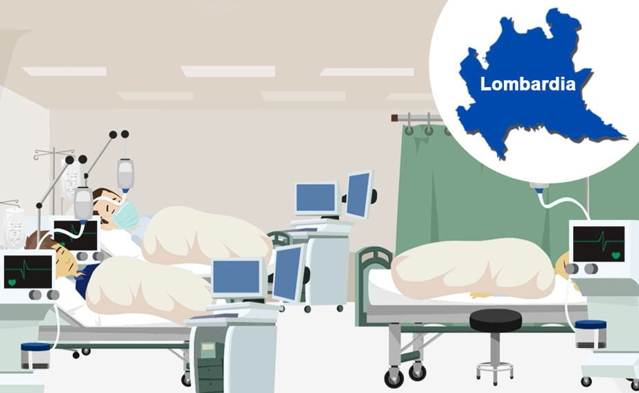 Covid-19: mortalità nelle terapie intensive lombarde