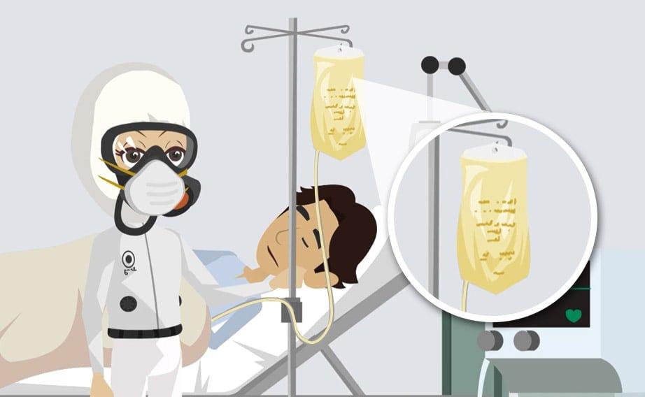 La trasfusione di plasma