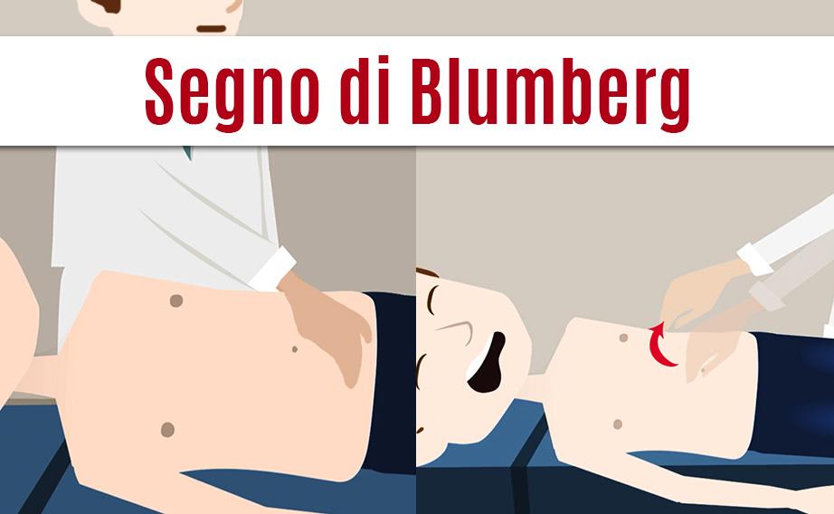 Esame obiettivo: il segno di Blumberg o peritonismo