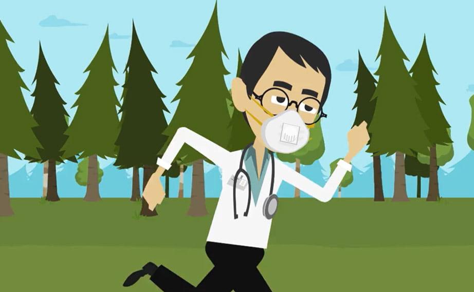 Indossare le mascherine N95: svantaggi e benefici inaspettati