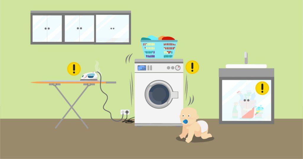 non lasciare elettrodomestici incustoditi