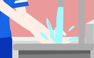 come curare un'ustione - acqua fredda su ustione