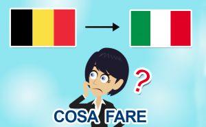 Rientro dal Belgio in Italia per il Covid-19: che fare?