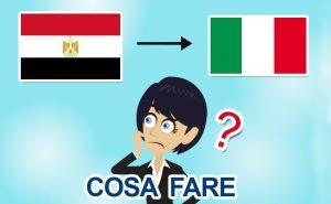 Rientro dall'Egitto in Italia per il Coronavirus: cosa fare?