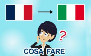Rientro dalla Francia in Italia per il Covid-19: che fare?