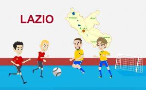 Giocare a calcetto nel Lazio: norme e regole durante il Coronavirus