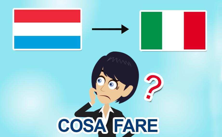 Rientro dal Lussemburgo in Italia per il Covid-19: che fare?