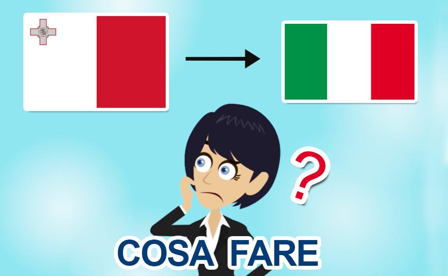 Rientro da Malta in Italia per il Covid-19: cosa fare?