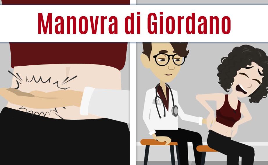 Esame obiettivo: la manovra di Giordano segno di infiammazione renale