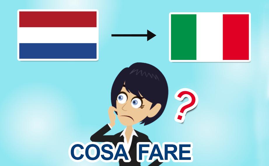 Rientro dai Paesi Bassi in Italia per il Covid-19: che fare?