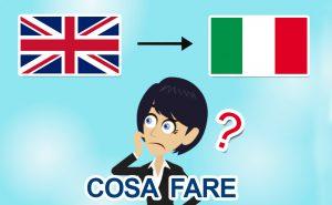 Rientro dalla Gran Bretagna in Italia per il Covid-19: che fare?