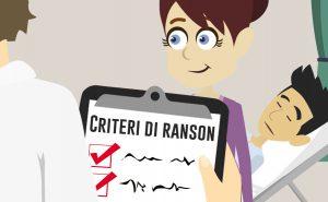 Criteri di Ranson per la valutazione della gravità e prognosi della pancreatite acuta