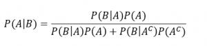 teorema bayes complementari