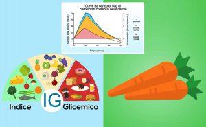 indice glicemico carote