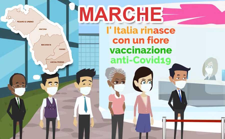 campagna vaccinazione covid-19 marche
