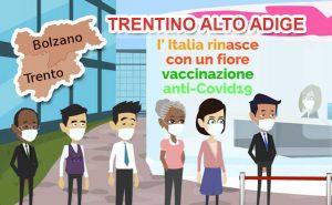 campagna vaccinazione trentino alto-adige covid-19