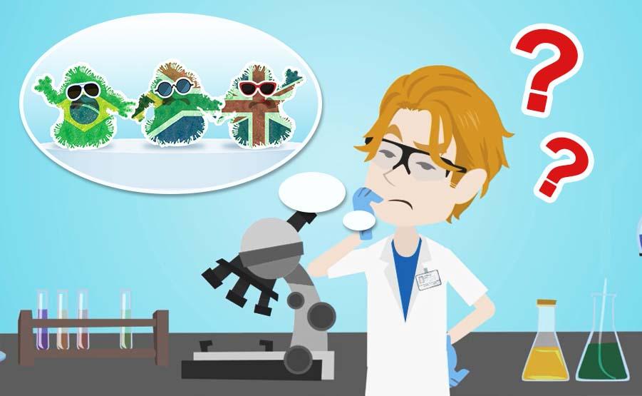 Come si creano le varianti del Coronavirus Covid-19?