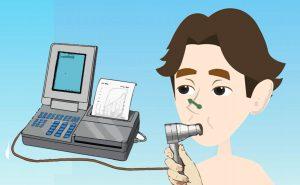 spirometria, l'esame che misura le capacità polmonari